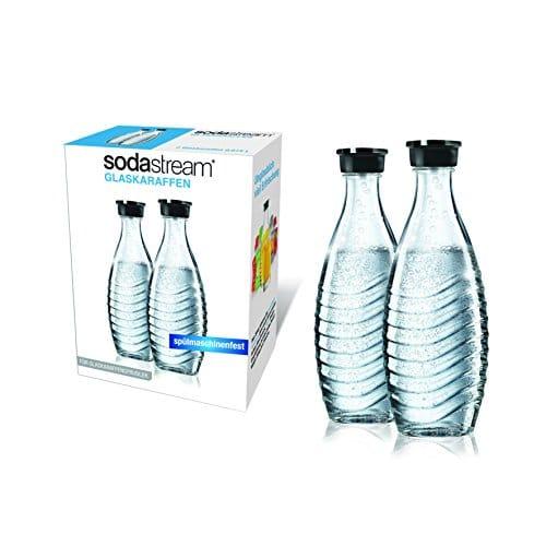 SodaStream Glaskaraffen (2x 0,6 Liter)
